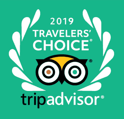 Trip Advisor Travellers Choice Award 2019
