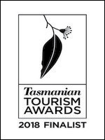 Tasmanian Tourism Awards Finalist 2018